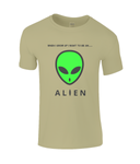 When I Grow Up I Want To Be An Alien - men's t-shirt