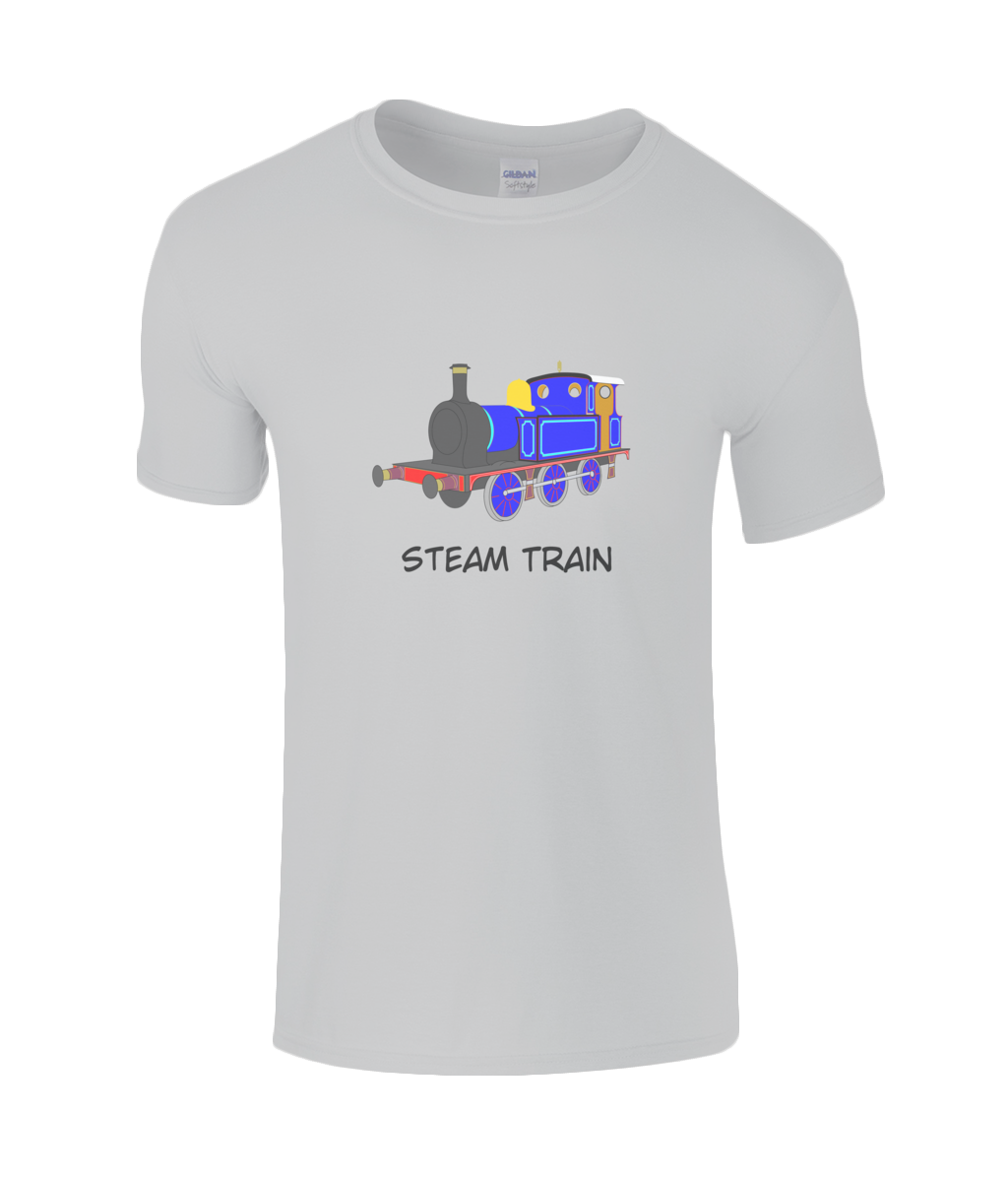 Steam Train - kid's t-shirt