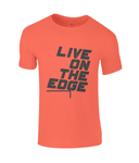 Live On The Edge - men's t-shirt