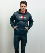 London Est: Who Cares? - men's hoodie
