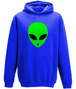 Alien face - youth's hoodie