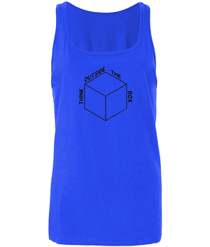 Think Outside The Box - women's tank top