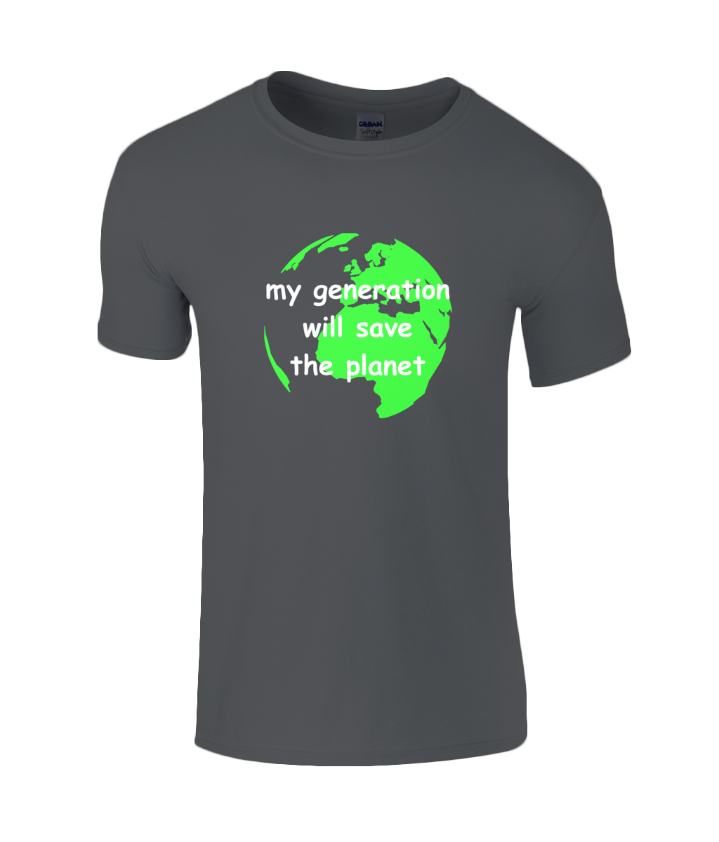 my generation will save the planet - youth's t-shirt