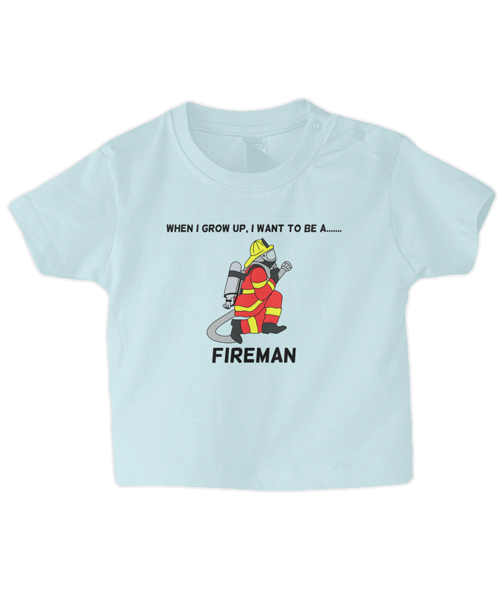 When I Grow Up I Want To Be A Fireman