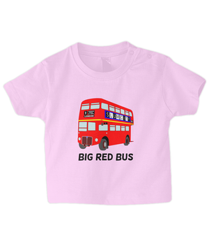 Big Red Bus - infant's t-shirt