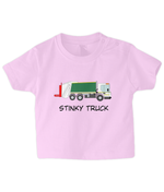 Stinky Truck - infant's t-shirt