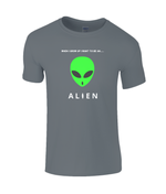 When I Grow Up I Want To Be An Alien - youth's t-shirt