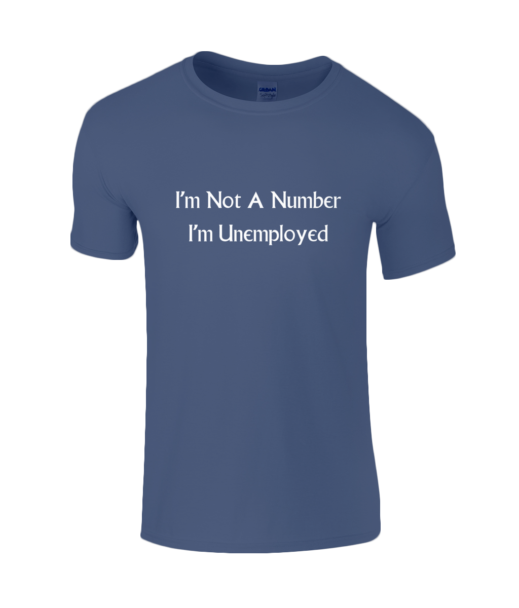 I'm Not A Number I'm Unemployed