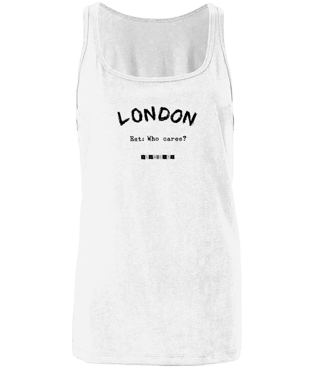 London Est: Who Cares? - women's tank top