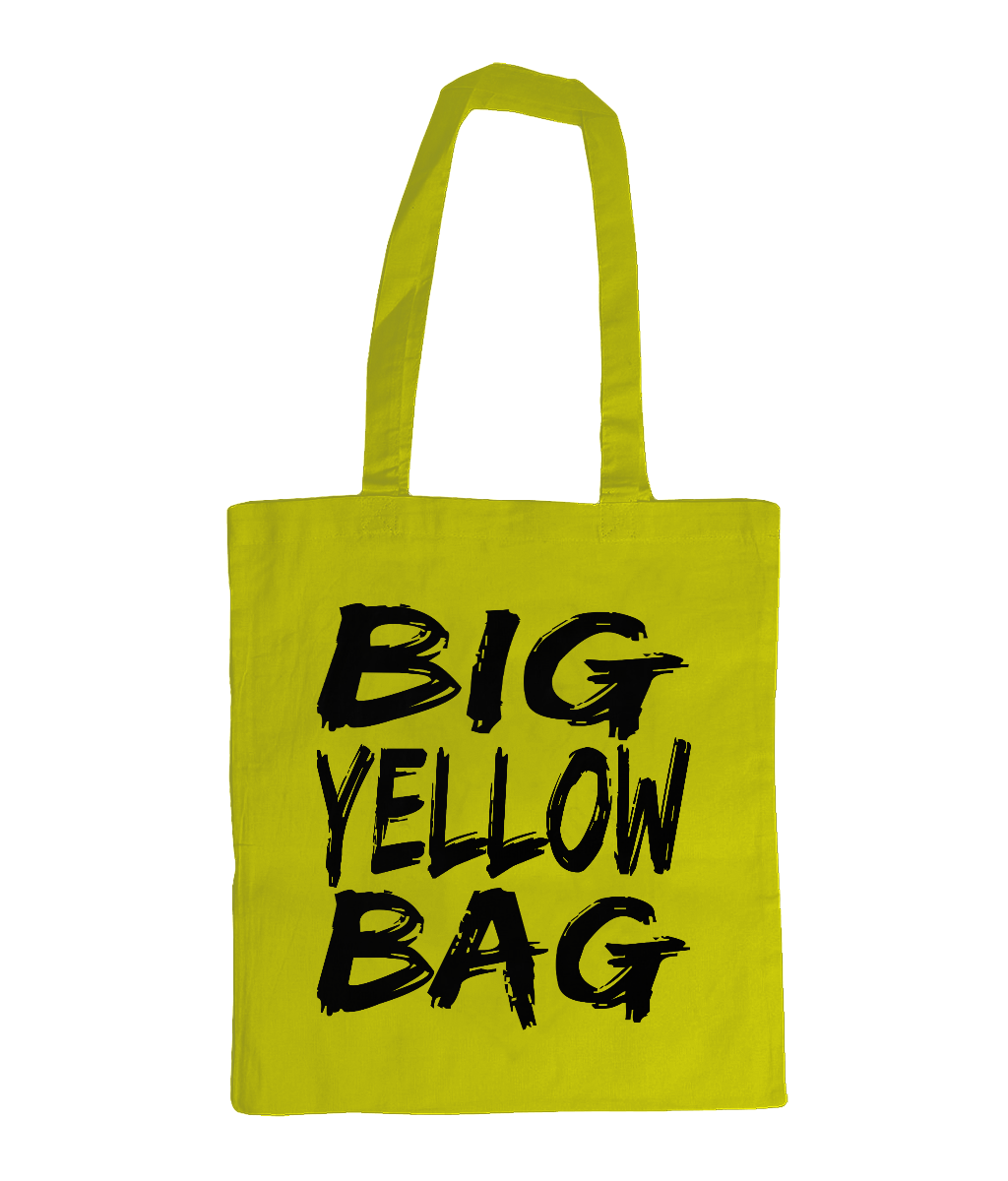 Big Yellow Bag - tote bag
