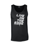 Live On The Edge - men's tank top