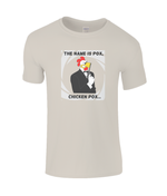 The Name Is Pox, Chicken Pox - kid's t-shirt