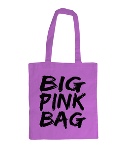 Big Pink Bag - tote bag