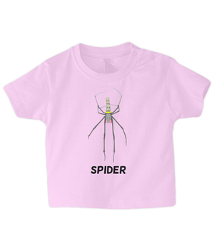 Spider - infant's t-shirt