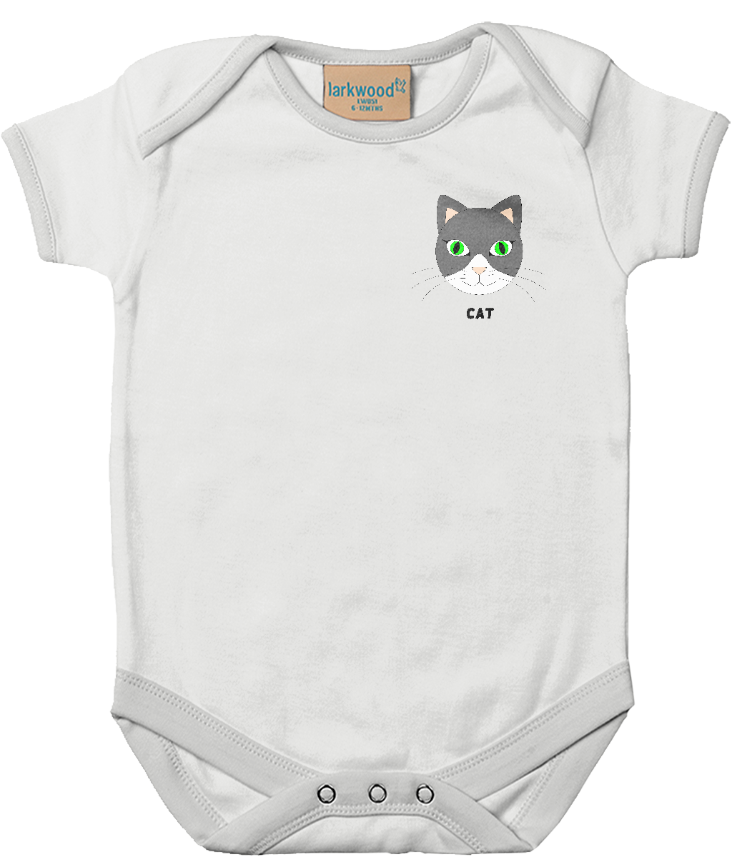 Cat - baby bodysuit