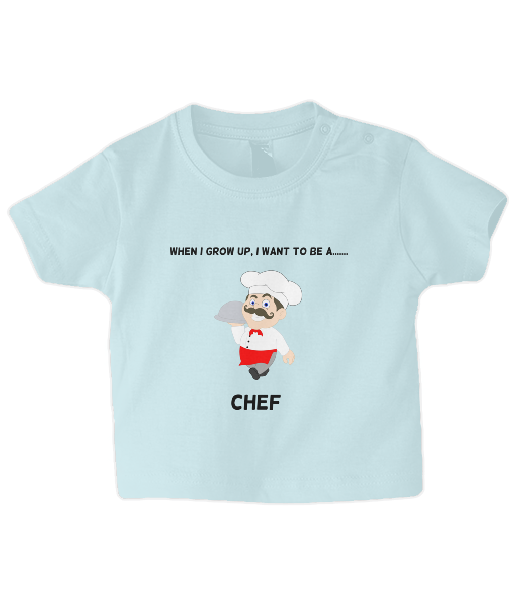 When I Grow Up I Want To Be A Chef