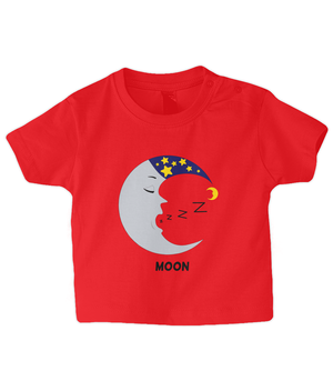 Moon - infant's t-shirt