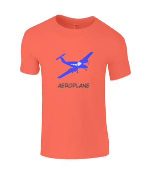Aeroplane - kid's t-shirt