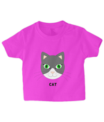 Cat - infant's t-shirt