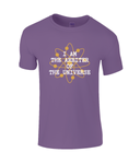 I Am The Arbiter Of The Universe - kid's t-shirt
