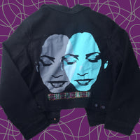 Sade hand painted jean jacket