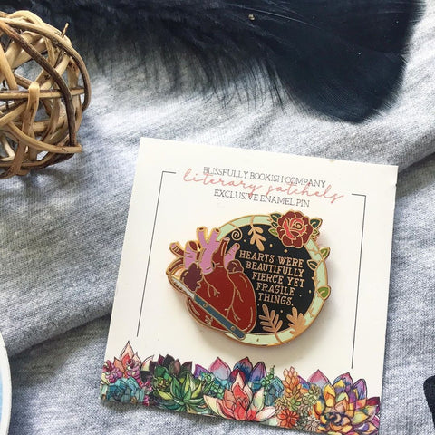 Hearts Are Beautiful - Stalking Jack the Ripper Enamel Pin