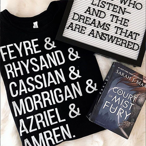 A Court of Friends - A Court of Thorns and Roses Shirt - Sarah J Maas Tees - Blissfully Bookish