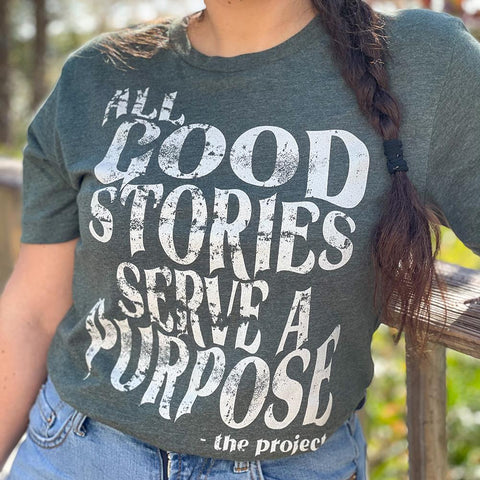 All Good Stories - Boyfriend Tees