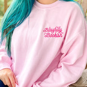 Blissfully Bookish Boyfriend Sweatshirt - Sweatshirt