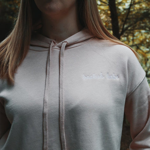 Bookish Babe Cropped Hoodie - Boyfriend Tees