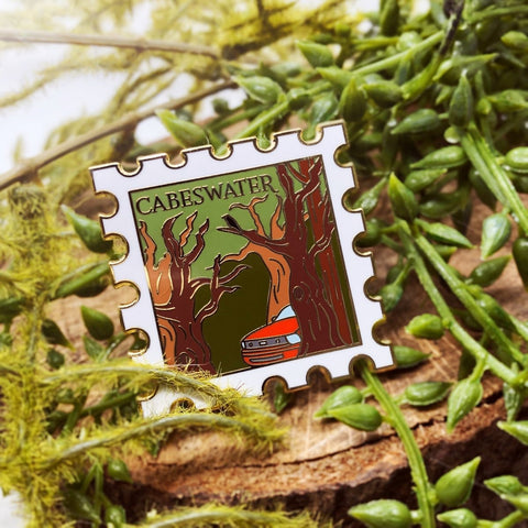 Cabeswater - June's Destination Stamp Pin - Enamel Pin
