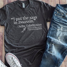 Sassiest Assassin Incorrect Quote - [product_tag] Shirt | Blissfully Bookish Company
