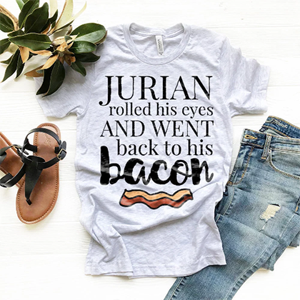 Jurian <3's Bacon - A Court of Thorns and Roses Shirt - Sarah J Maas Tees - Blissfully Bookish