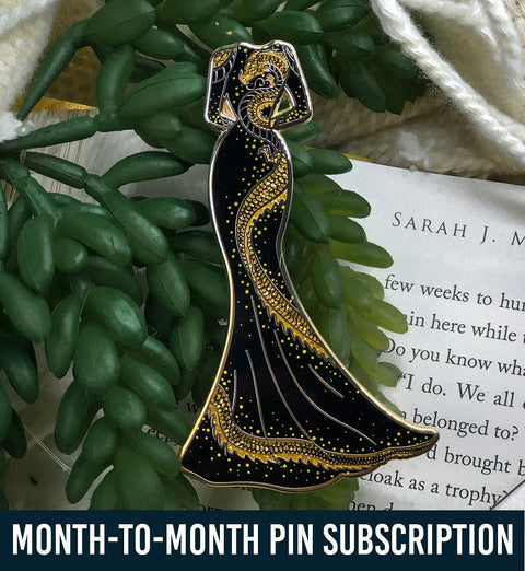 Novel Threads Enamel Pin Series - Month-to-Month Subscription - Subscription