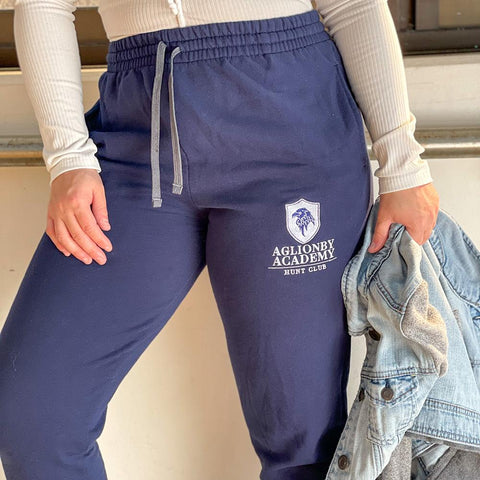 Prep Academy Hunt Club Embroidered Boyfriend Joggers - Joggers