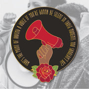Racial Justice Charity Enamel Pin - PRESALE