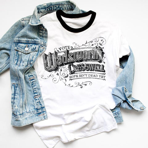 Wadsworth & Cresswell Campaign - Boyfriend Tees