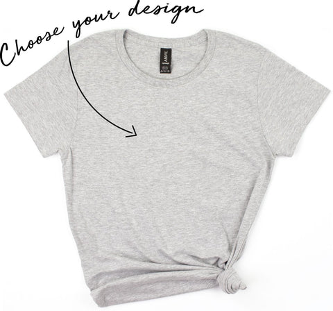 Women's Round Neck Shirt - Create Your Own - Short Sleeve