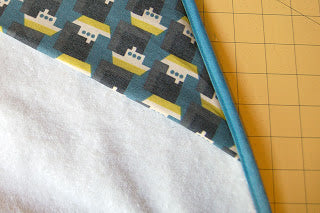 How To: Attach Bias Tape (with mitered corners)