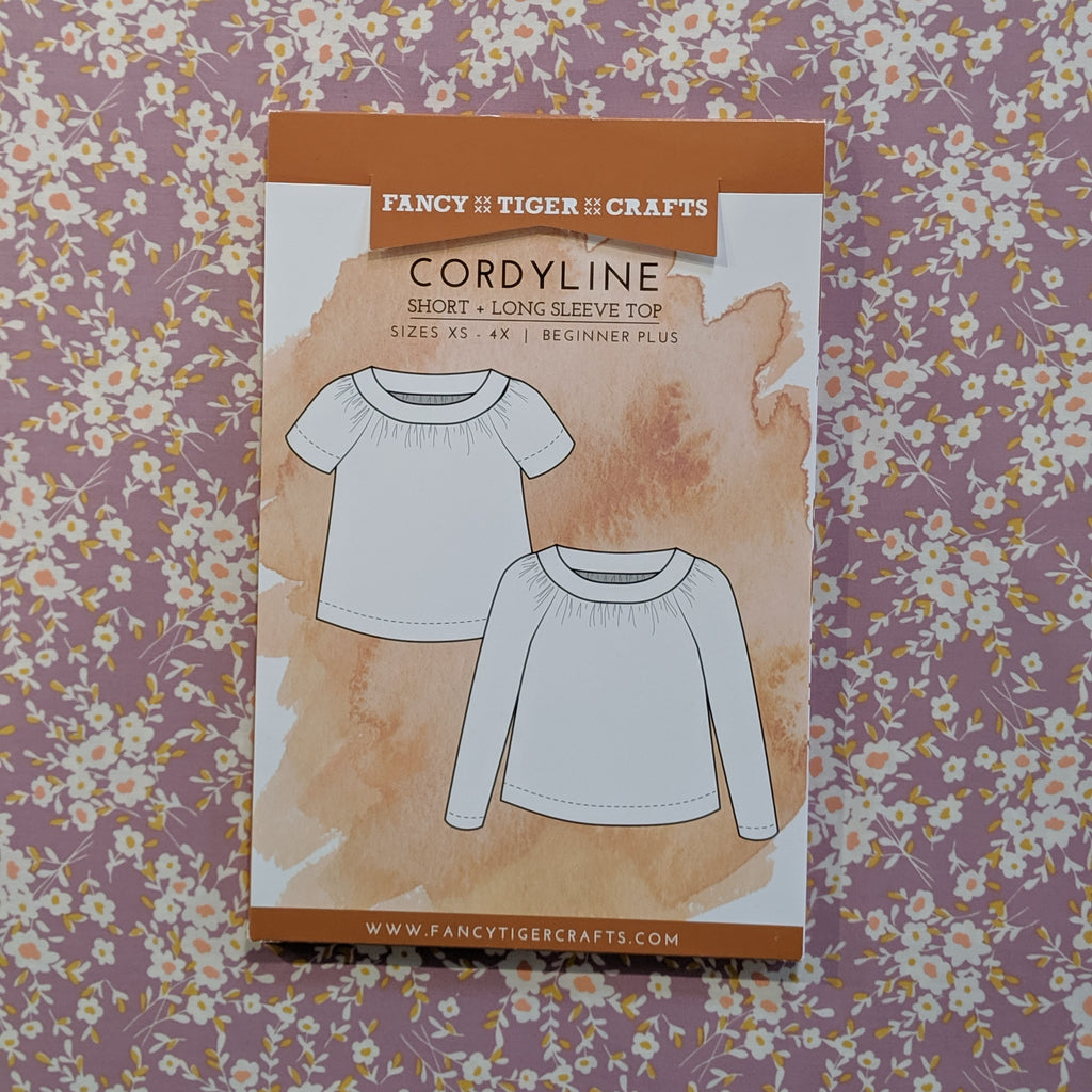Cordyline Short and Long Sleeve Top
