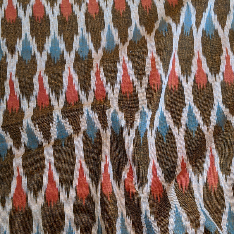 Ikat in Brown