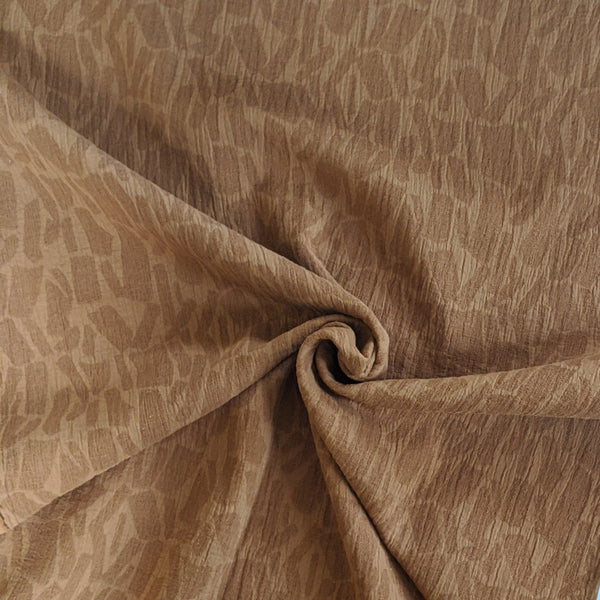 Willa Jacquard - Toffee