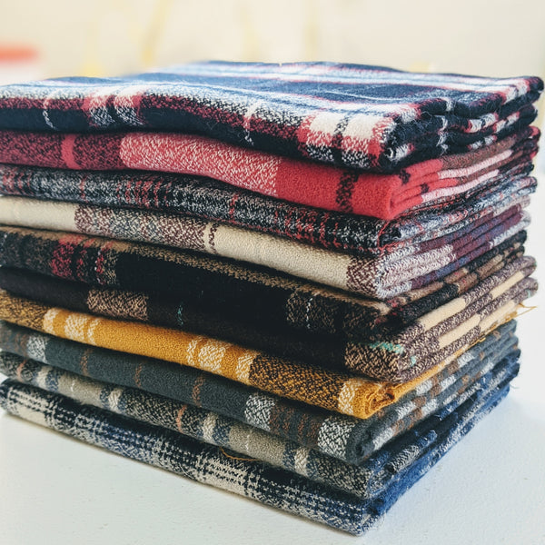 Mammoth Flannel Bundle, Black Multi