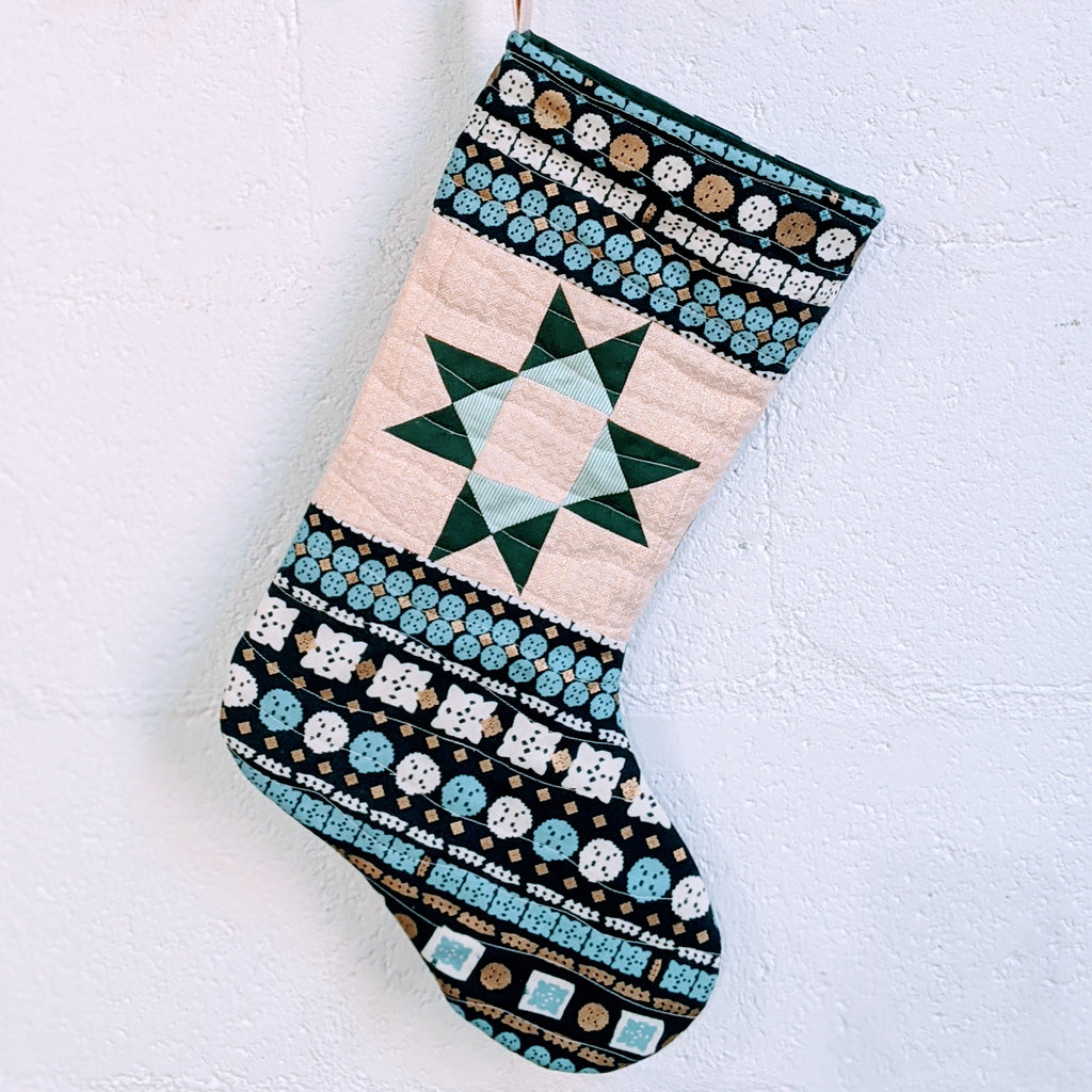 Ohio Star Stocking