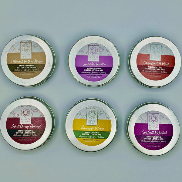 Moisturizing Butter Lotion Bars