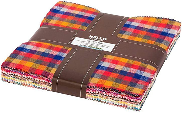 Mammoth Junior Flannel Ten-Square Pack Warm Color Story