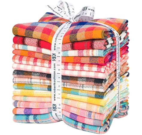 Mammoth Junior Flannel Bundle, Warm Color Story