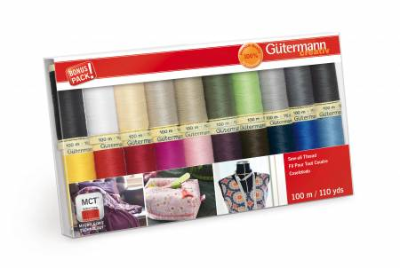 Gutermann Sew All Value Pack
