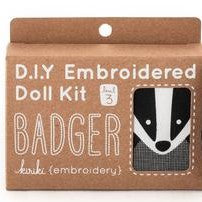 Badger Embroidery Kit