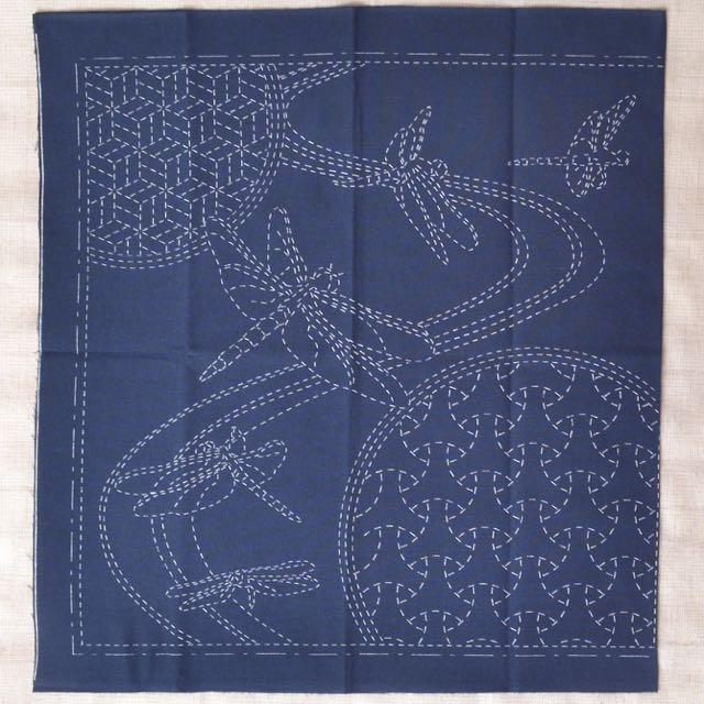 Sashiko Cloth - Dragonfly